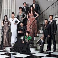 Kim Kardashian ... Entourée de toute sa famille pour nous souhaiter ses voeux