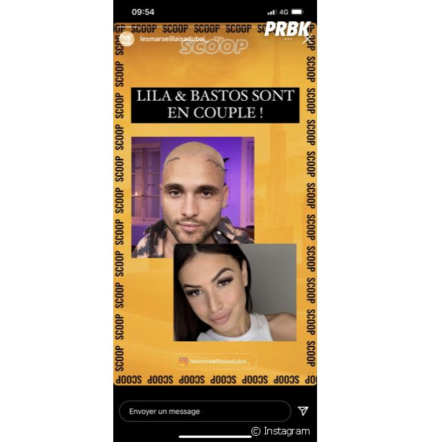 Bastos en couple avec Lila Taleb dans Objectif Reste du Monde ?