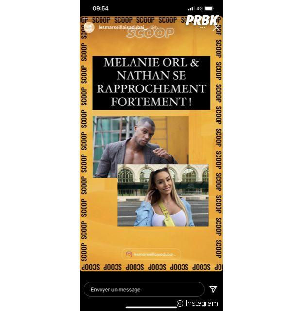 Objectif Reste du Monde : Mélanie Orl très proche de Nathan ?