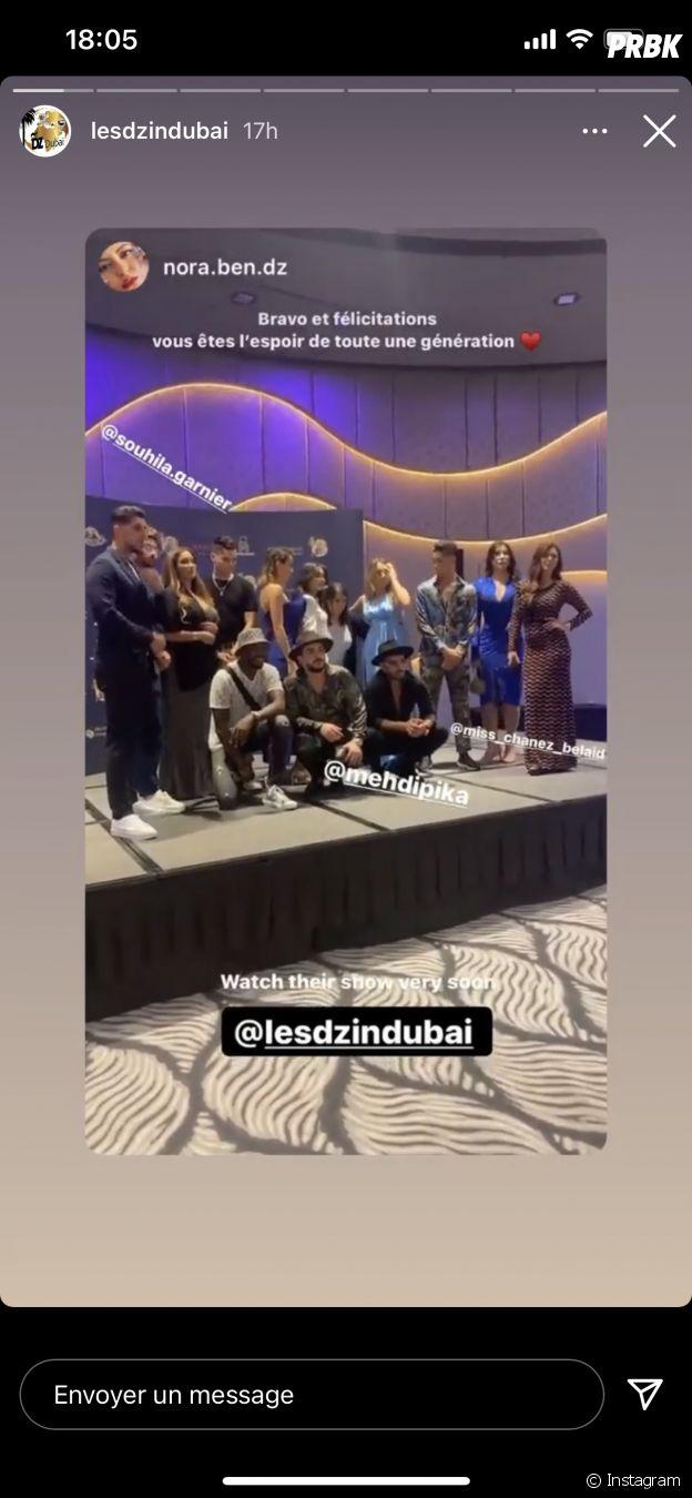 Sarah Fraisou en guest dans Les DZ in Dubaï