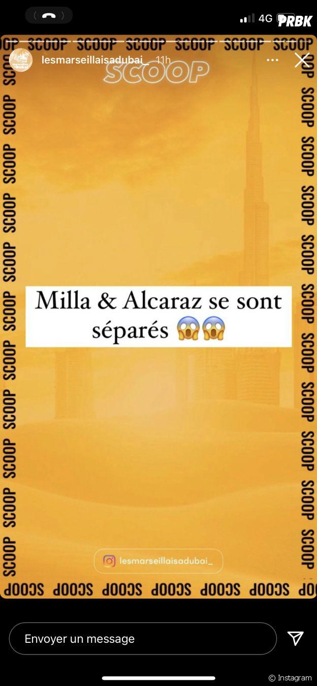 Milla Jasmine et Anthony Alcaraz déjà séparés dans Objectif Reste du Monde ?