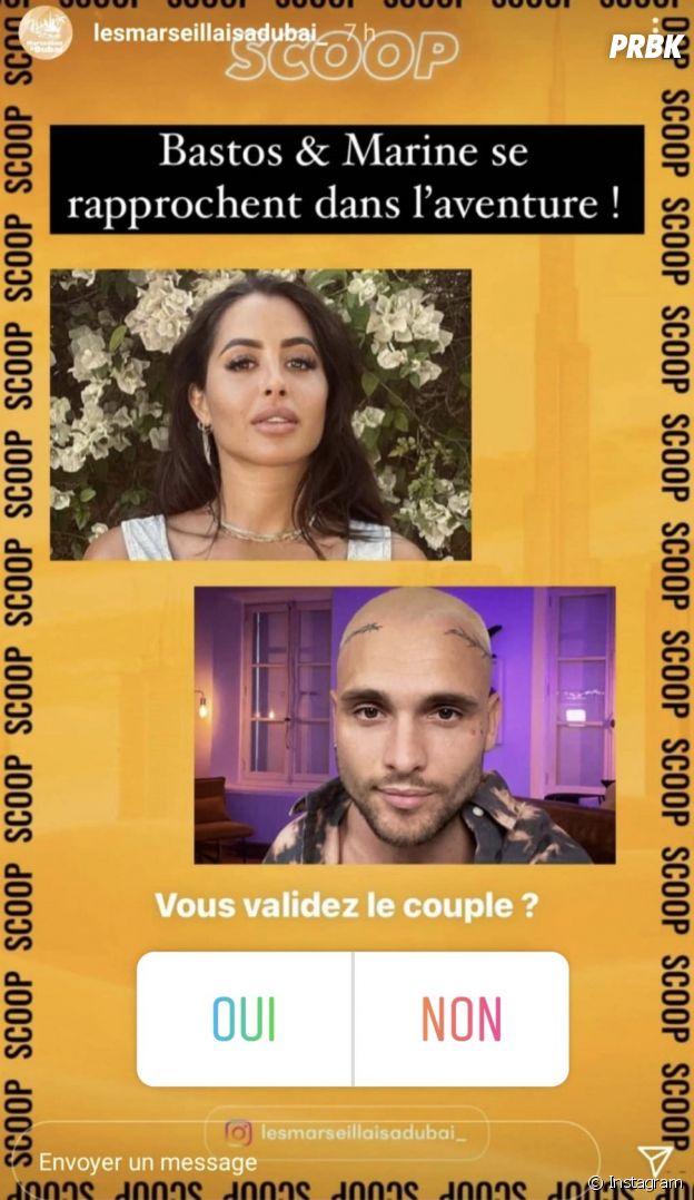 Objectif Reste du Monde : Marine El Himer et Bastos bientôt en couple ?