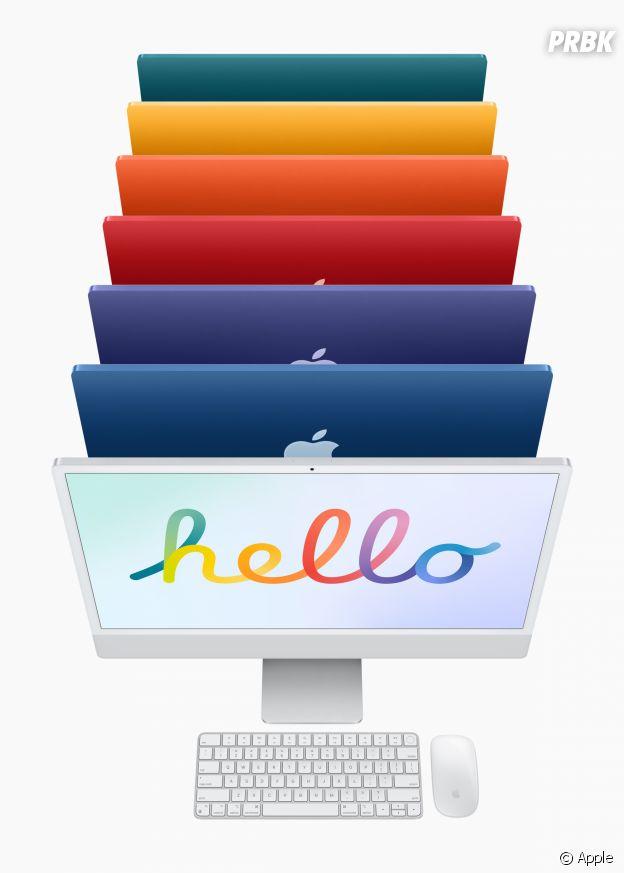 Apple dévoile son Nouvel iMac (Keynote du 20 avril 2021) : couleurs, prix et date de sortie