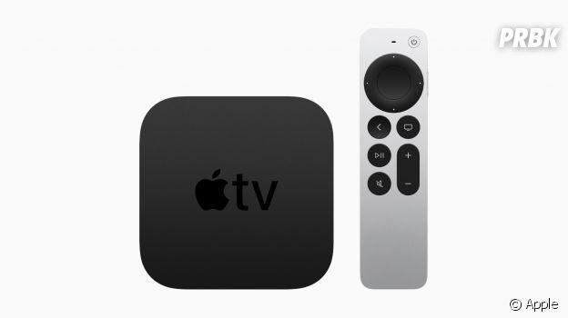 Apple TV 4K et sa nouvelle télécommande Siri Remote (Keynote avril 2021) : prix et date de sortie