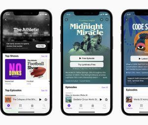 Les Abonnements Apple Podcasts dévoilés lors de la Keynote du 20 avril 2021