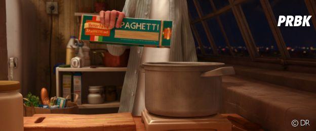 Ratatouille : cette marque fait référence à un animateur du film