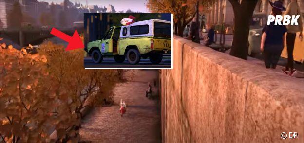Ratatouille : le camion Pizza Planet est présent