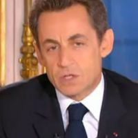 Nicolas Sarkozy ... ses voeux de fin d'année retransmis en direct sur Dailymotion