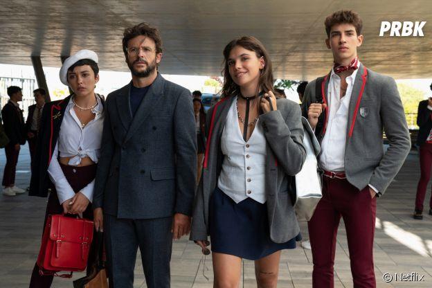 Carla Diaz (Ari), Diego Martin (Benjamin), Martina Cariddi (Mencia) et Manu Rios (Patrick) rejoignent le casting dans la saison 4 d'Elite