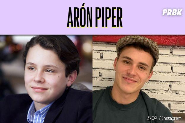 Aron Piper dans son premier rôle VS aujourd'hui