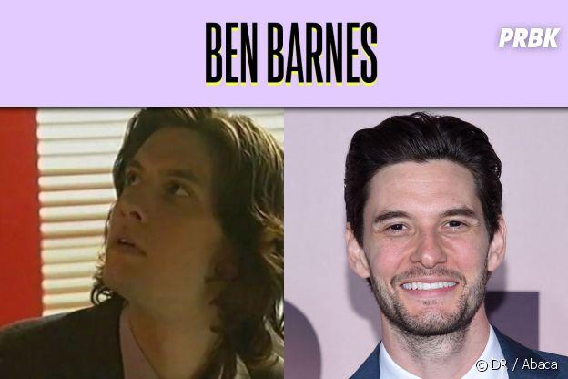 Ben Barnes dans son premier rôle VS aujourd'hui