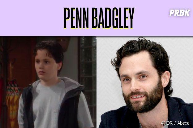 Penn Badgley dans son premier rôle VS aujourd'hui