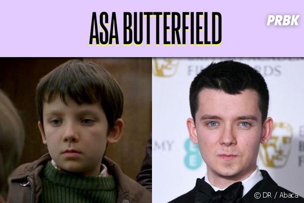 Asa Butterfield dans son premier rôle VS aujourd'hui