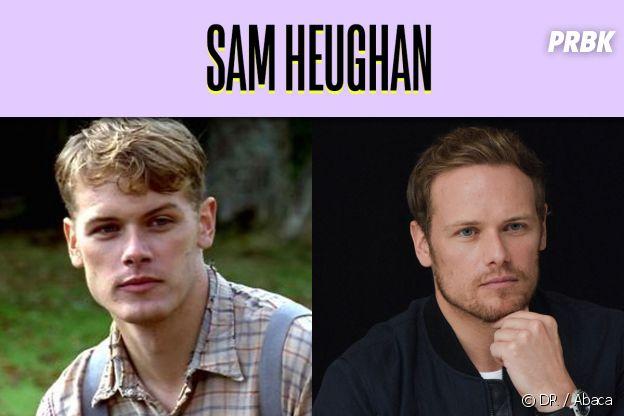 Sam Heughan dans son premier rôle VS aujourd'hui