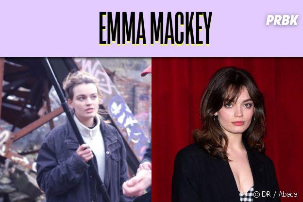 Emma Mackey dans son premier rôle VS aujourd'hui