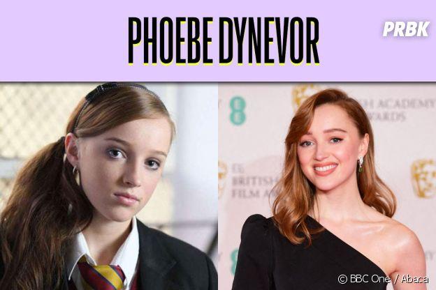 Phoebe Dynevor dans son premier rôle VS aujourd'hui