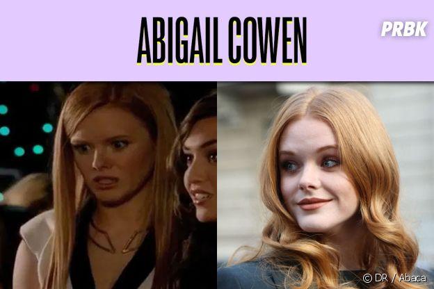 Abigail Cowen dans son premier rôle VS aujourd'hui