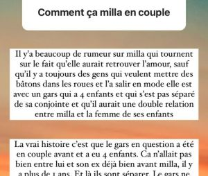 Milla Jasmine en couple avec un homme marié ? Les versions des influenceurs
