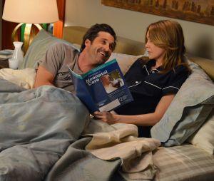 Grey's Anatomy : Ellen Pompeo (Meredith) avoue que son mari était jaloux de ses scènes avec Patrick Dempsey (Derek)