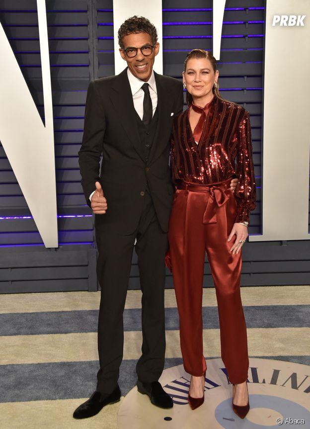 Ellen Pompeo (Meredith dans Grey's Anatomy) et son mari Chris Ivery