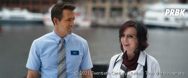 Ryan Reynolds et Jodie Comer dans Free Guy
