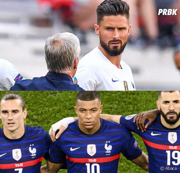 Equipe de France : Didier Deschamps clashe Olivier Giroud et défend Benzema et Mbappé après l'Euro 2020