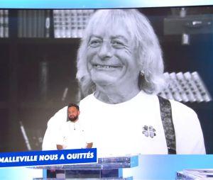 Cyril Hanouna rend hommage à René Malleville dans TPMP après l'annonce de sa mort