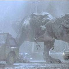 La trilogie Jurassic Park ... diffusée à la télé ... en janvier 2011