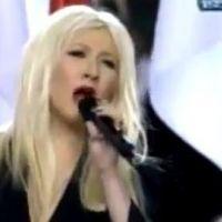Christina Aguilera ... Huée au Superbowl pour une erreur de paroles sur l'hymne américain