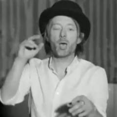 Radiohead ... Regardez le leader se déhancher sur du Beyoncé (vidéo)