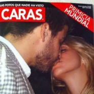 Shakira et Gerard Piqué ... Ils s'embrassent en Une du magazine CARAS (photo)