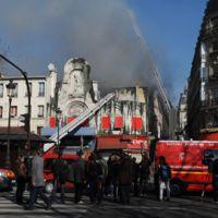 Incendie Elysée Montmartre ... VIDEO ... des images impressionnantes
