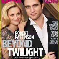 Robert Pattinson et Reese Witherspoon ... le couple en ''Une'' du magazine Entertainment