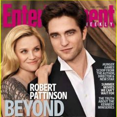Robert Pattinson et Reese Witherspoon ... le couple en ''Une'' du magazine Entertainment