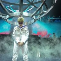 Justin Bieber en concert à Bercy hier ... Les photos exclusives