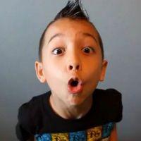 Nicolas Merritt ... A 8 ans, c'est un tueur à la batterire
