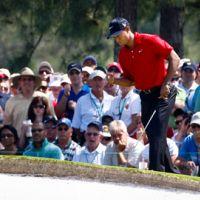Tiger Woods a (failli) remettre sa veste verte ... au Masters d'Augusta