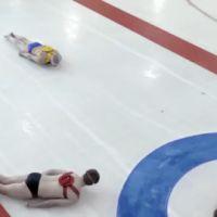 Curling humain ... un nouveau sport déjanté (vidéo)