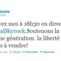 Soutien politique pour Skyrock : voici Rama Yade après Lang et Hollande