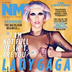 Lady Gaga ... toute nue en couverture de NME Magazine