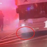 Real Madrid ... La coupe du Roi cassée par Sergio Ramos ... et le bus (VIDEO)