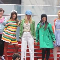 PHOTOS ... Glee saison 2 ... Lea Michele et ses copains en tournage à New York
