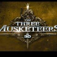 Les Trois Mousquetaires 3D... la spectaculaire bande annonce du film (VIDEO)