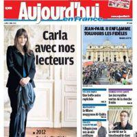 Carla Bruni enceinte ... Pas de démenti, pas de confirmation
