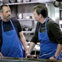 Dr House ... Hugh Laurie et Robert Sean Leonard sont vraiment amis