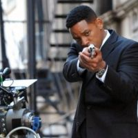 PHOTOS ... Will Smith : il fait ses propres cascades pour Men in Black 3