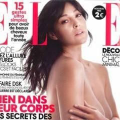 Monica Bellucci sublime pour Elle ... elle pose sans vêtements et sans maquillage
