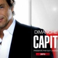 Capital dimanche sur M6 ... Eric Besson s'énerve contre Guy Lagache