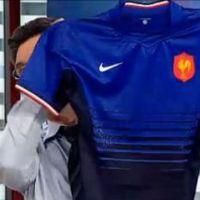 Le nouveau mailllot du XV de France de Rugby ... en VIDEO