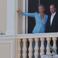 Mariage Monaco : Albert et Charlène : LE bisou en photos